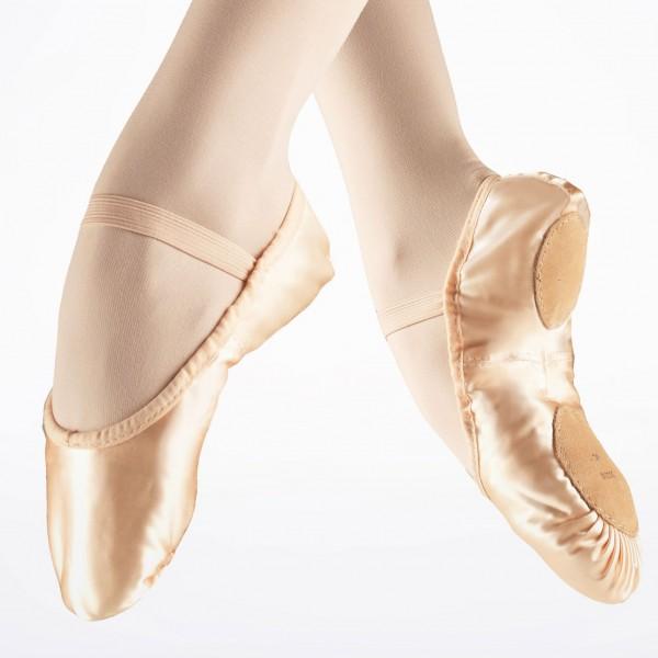 "Атласные балетки Bloch ""Prolite"""