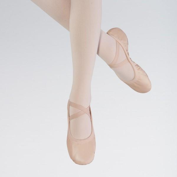 """Кожаные балетки Bloch """"Odette"""" на разделенной подошве"""