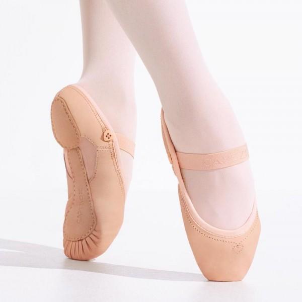 "Детские кожаные балетки Capezio ""Love Ballet"""