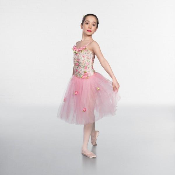 Балетная пачка для выступлений с цветами