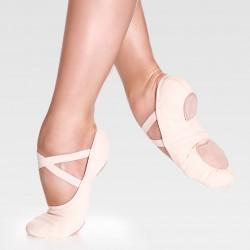 Эластичные холщовые балетки So Danca